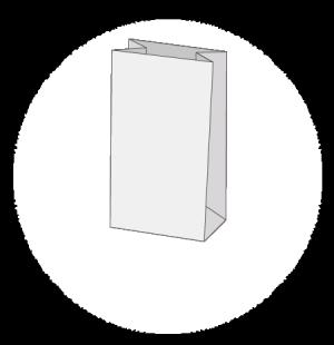 Sac papier kraft personnalisé sans poignées ou SOS (self opening ... fbed2b48e13c