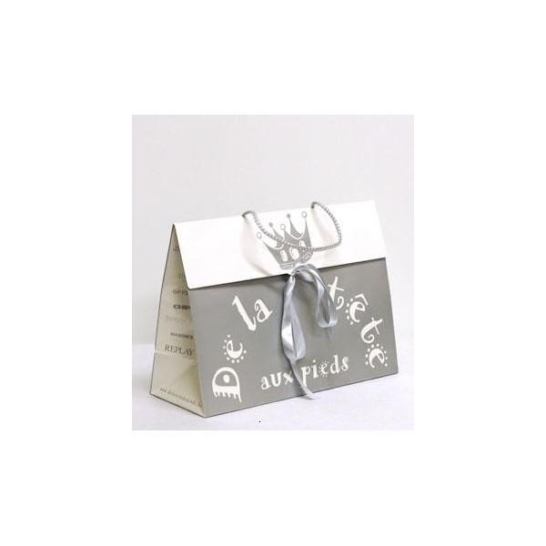 sac papier luxe personnalis cadeau personnalis taille 2. Black Bedroom Furniture Sets. Home Design Ideas