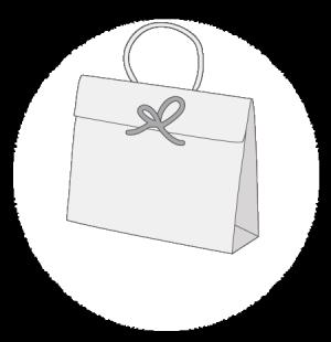 Sac luxe cadeau personnalisable taille 3 - Papier cadeau personnalisable ...