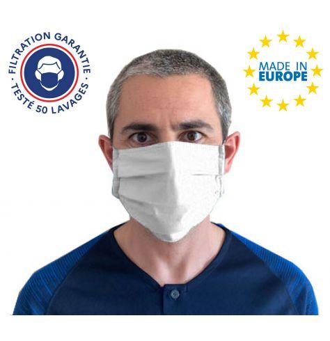 Masque grand-public coton 3 plis DGA personnalisé
