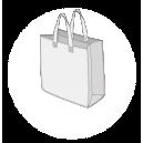 Sac publicitaire cabas polypropylène tissé taille 11