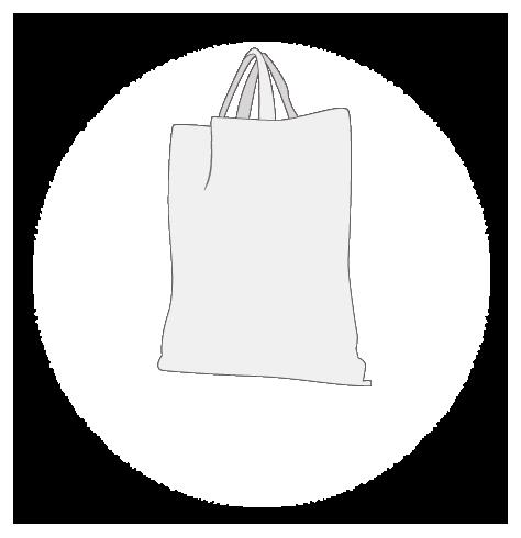 Sac publicitaire coton naturel 120 gr 38x42 cm