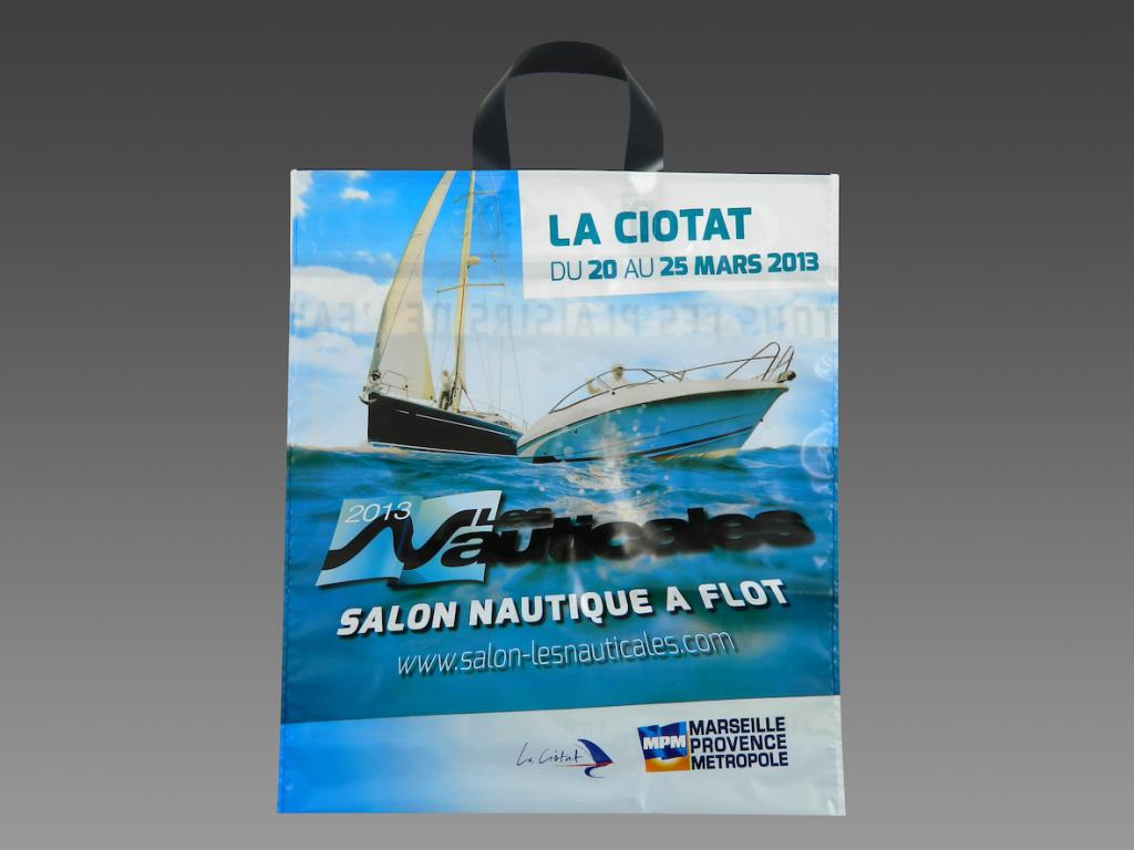 Sacs plastiques personnalis s impression quadrichromie pour les nauticales blog monsacpub - Salon nautique de la ciotat ...