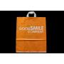 Sac plastique anses souples avec soufflets latéraux