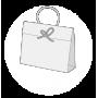 Sac papier luxe format cadeau