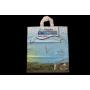 Sac plastique anses souples sans soufflet
